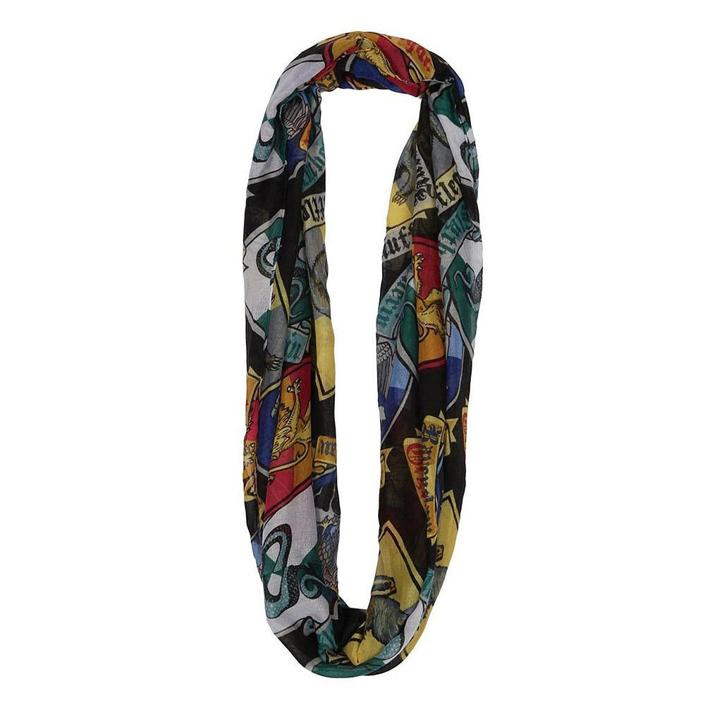 House Crests Infinity Viscose Scarf