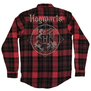 Harry Potter Hogwarts Flannel Shirt