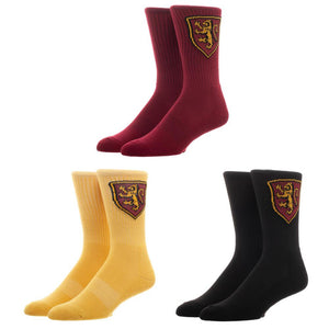 Harry Potter Gryffindor 3-Pack Crew Socks Set