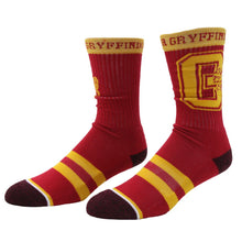 Harry Potter Men's Gryffindor Taping Crew Socks