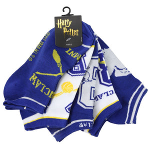 Harry Potter Ravenclaw Juniors Ankle Socks Five-Pack