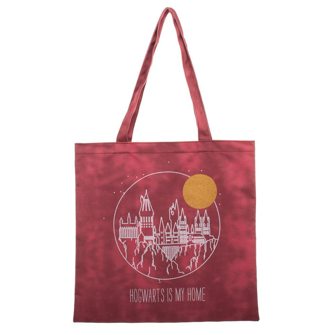 Harry Potter Hogwarts is My Home Canvas Tote Bag