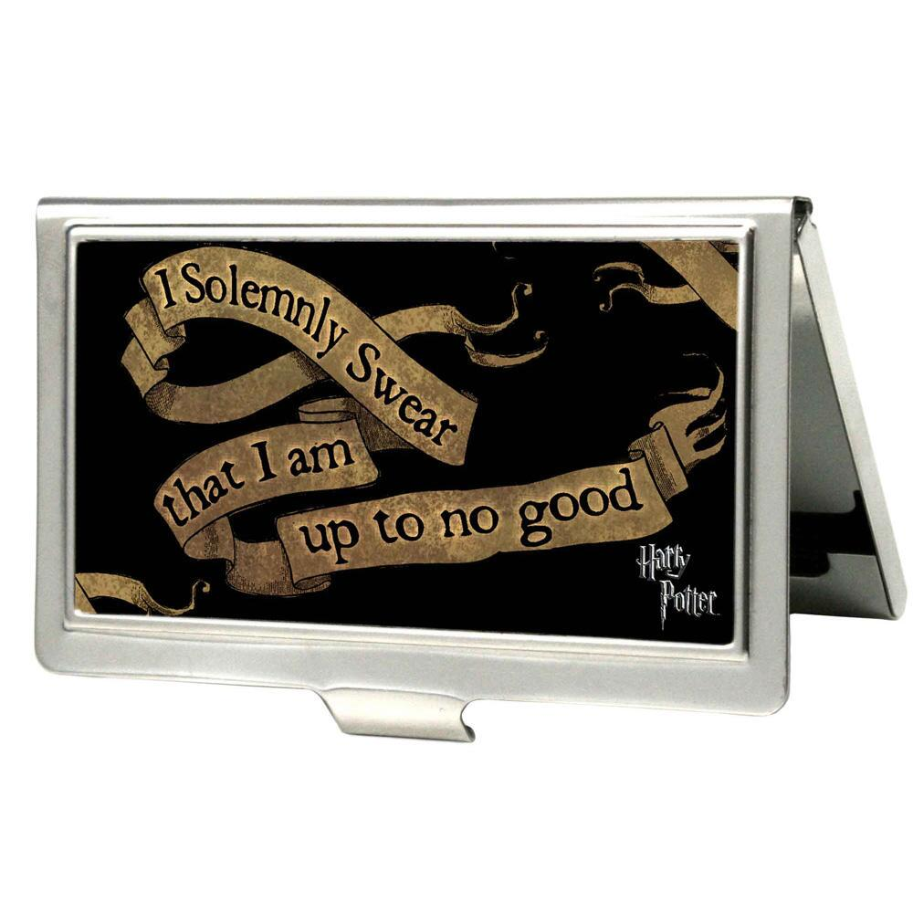 I Solemnly Swear Business Card Holder