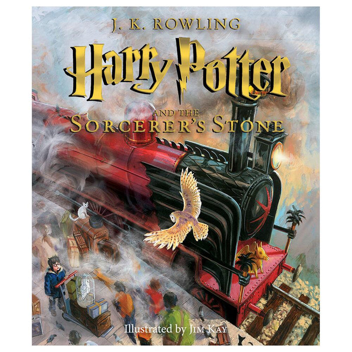 Harry Potter and the Sorcerer's Stone - The Illustrated Edition