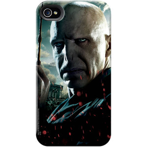 Additional image of Voldemort Close Up with Wand iPhone Case