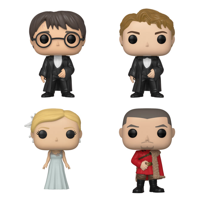 Harry Potter Yule Ball Pop! Figure Set