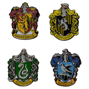 4-Pack House Crest Pin Set
