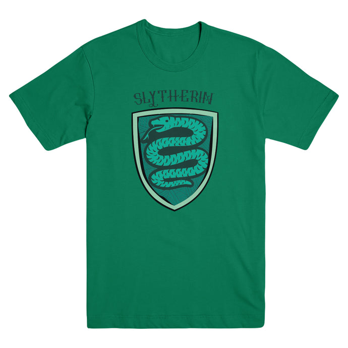 Slytherin House Crest Green T-Shirt