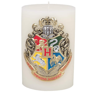 Harry Potter Large Hogwarts House Crest Insignia Sculpted Candle