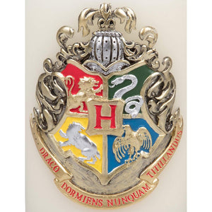 "Harry Potter 8"" Hogwarts House Crest Insignia Sculpted Candle"