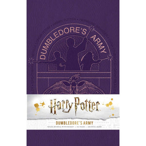 Harry Potter Dumbledore's Army Hardcover Ruled Journal