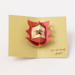Harry Potter Howler Pop-Up Card