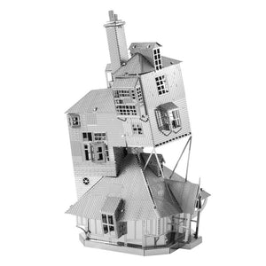 Additional image of Metal Earth 3D Metal Model Kits - The Burrow, Weasley Family Home from Harry Potter