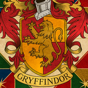 Additional image of Gryffindor House Crest Art Standard Limited Edition Print by MinaLima