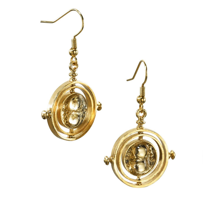 TIME-TURNER™ Gold-plated Earrings by Noble Collection