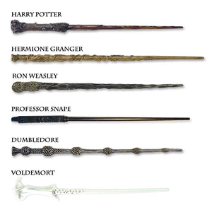 Additional image of Harry Potter Wizarding Wand Collection Set of 6 by Noble Collection