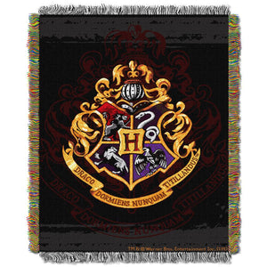 Exclusive Hogwarts Crest Tapestry Throw