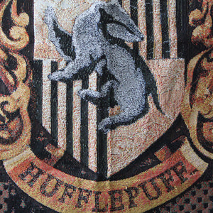 Additional image of Exclusive Hufflepuff Crest Tapestry Throw