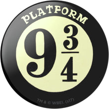 Harry Potter Platform 9 3/4 Logo PopSockets Swappable PopGrip