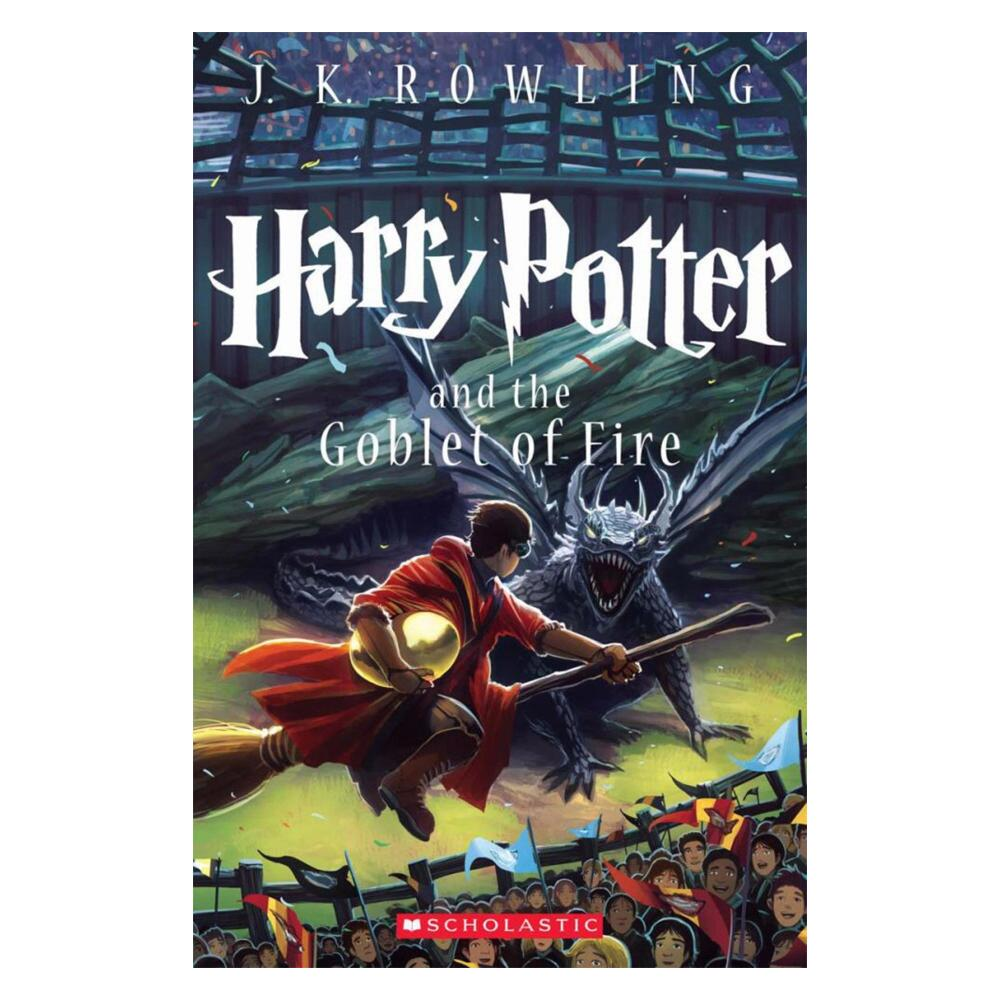 Harry Potter and the Goblet of Fire (Book 4) (Paperback)