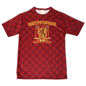 6d70690b ... Exclusive Personalized Gryffindor Crest Adult Quidditch Jersey Style T- Shirt from Harry Potter