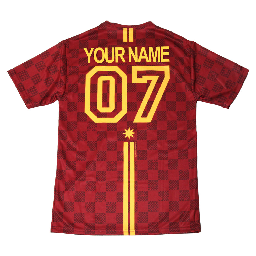 394e982d7 Exclusive Personalized Gryffindor Crest Adult Quidditch Jersey Style T-Shirt  from Harry Potter