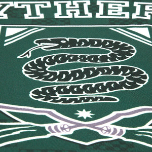Exclusive Personalized Slytherin Crest Youth Quidditch Jersey Style T-Shirt from Harry Potter