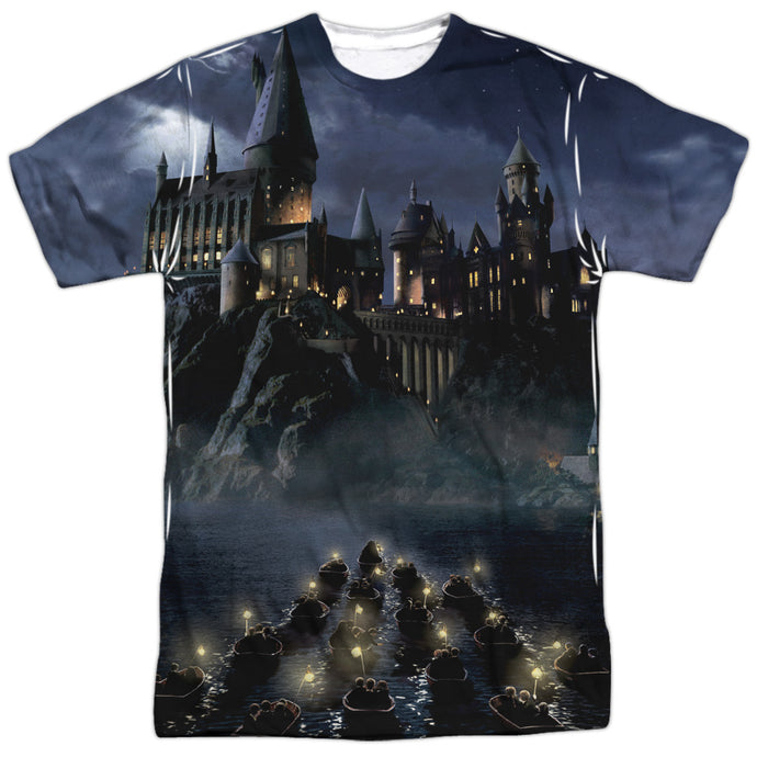 Hogwarts Castle Sublimation Print Adult T-shirt