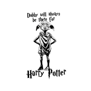 "Additional image of ""Dobby Will Always Be There for Harry Potter"" Juniors T-Shirt"