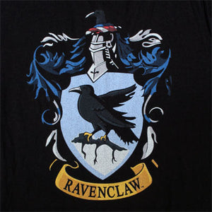 Additional image of Ravenclaw Color Crest Adult Black T-Shirt