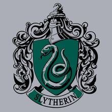Additional image of Slytherin Crest Juniors Gray T-Shirt