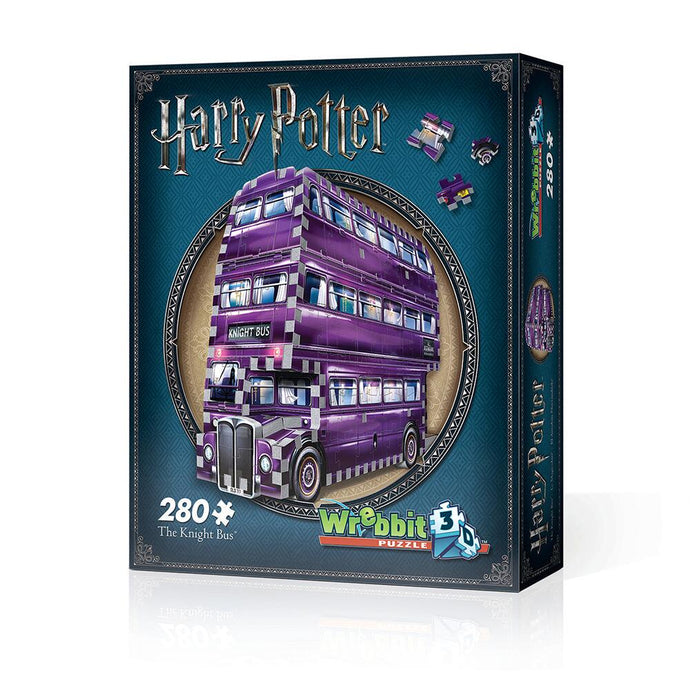 Harry Potter The Knight Bus 280 Piece 3D Puzzle