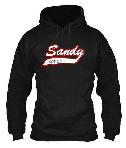 Sandy Outlined Hoodie Custom Color Outline
