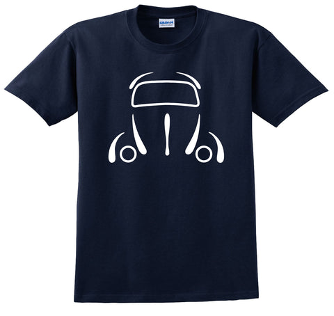 Classic Bug Outlined VW Inspired Shirt