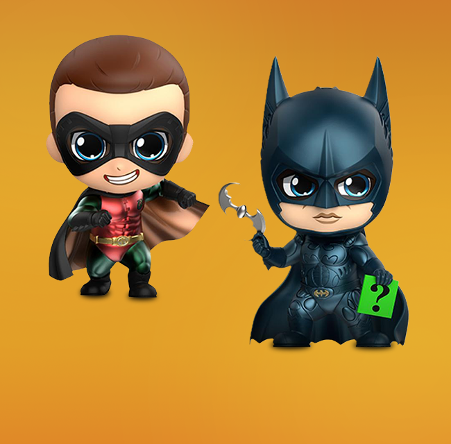 Premium Vinyl Collectables--Justice League Movie Batman Cosbaby
