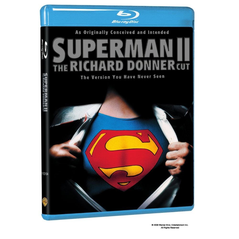 Superman II: The Richard Donner Cut (BD)