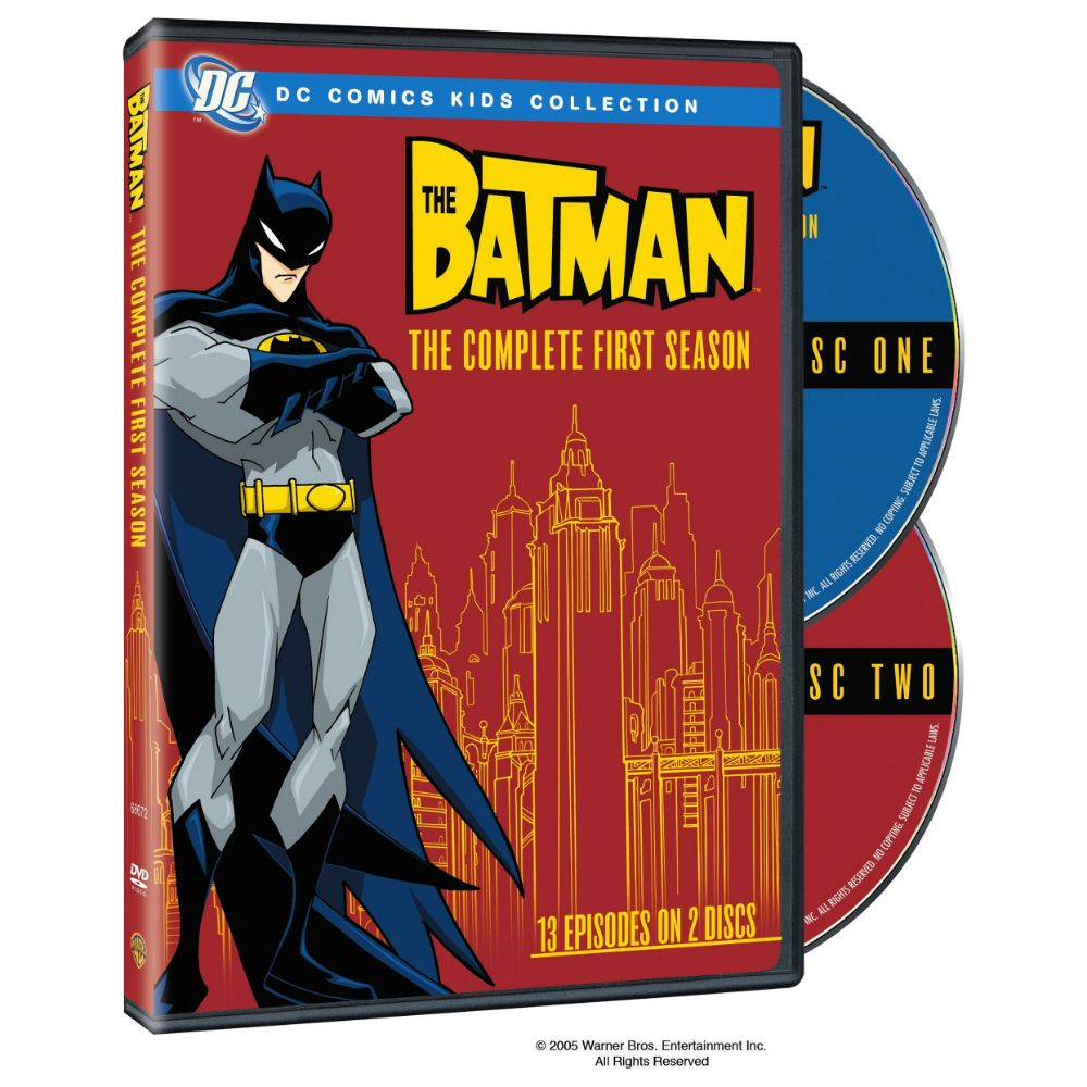 The Batman: The Complete First Season (DVD)