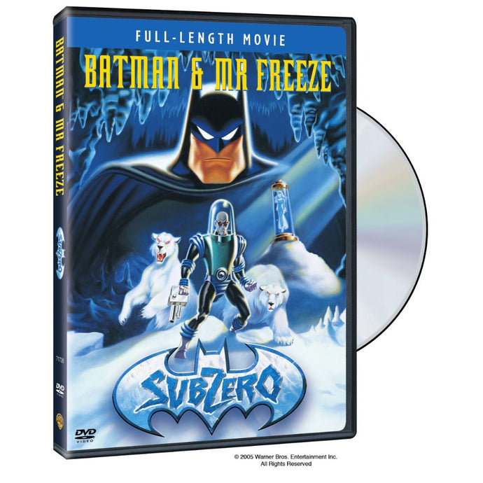 Batman & Mr. Freeze: SubZero (DVD)