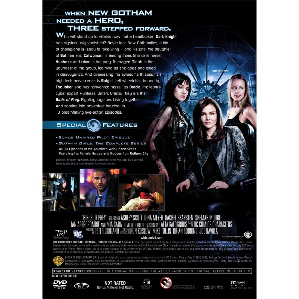 Birds Of Prey The Complete Series Dvd Dc Shop