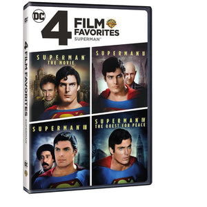 4 Film Favorites: Superman (DVD)