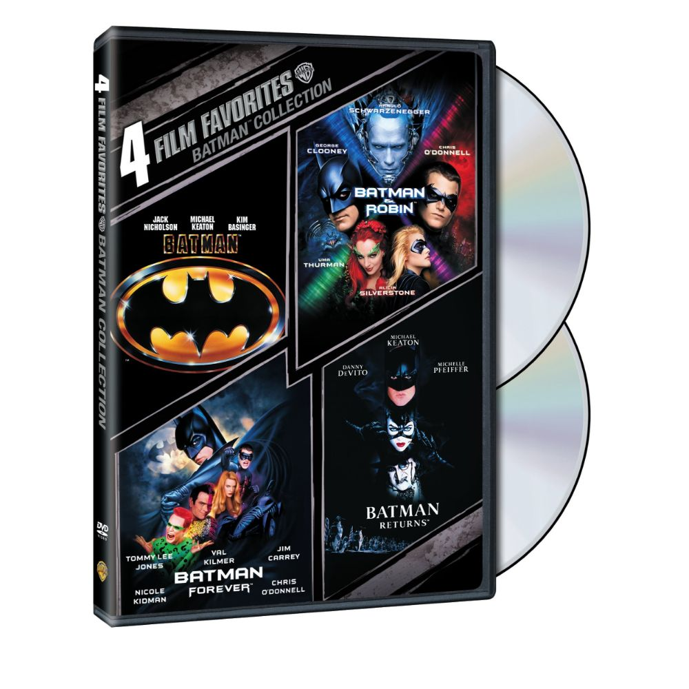 4 Film Favorites: Batman Collection (DVD)
