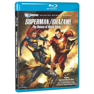 Superman/Shazam!: The Return of Black Adam (BD)