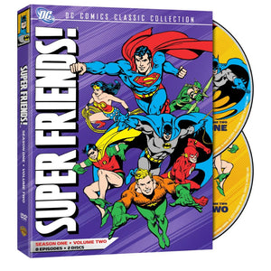 Super Friends - Season 1, Vol. 2 (DVD)
