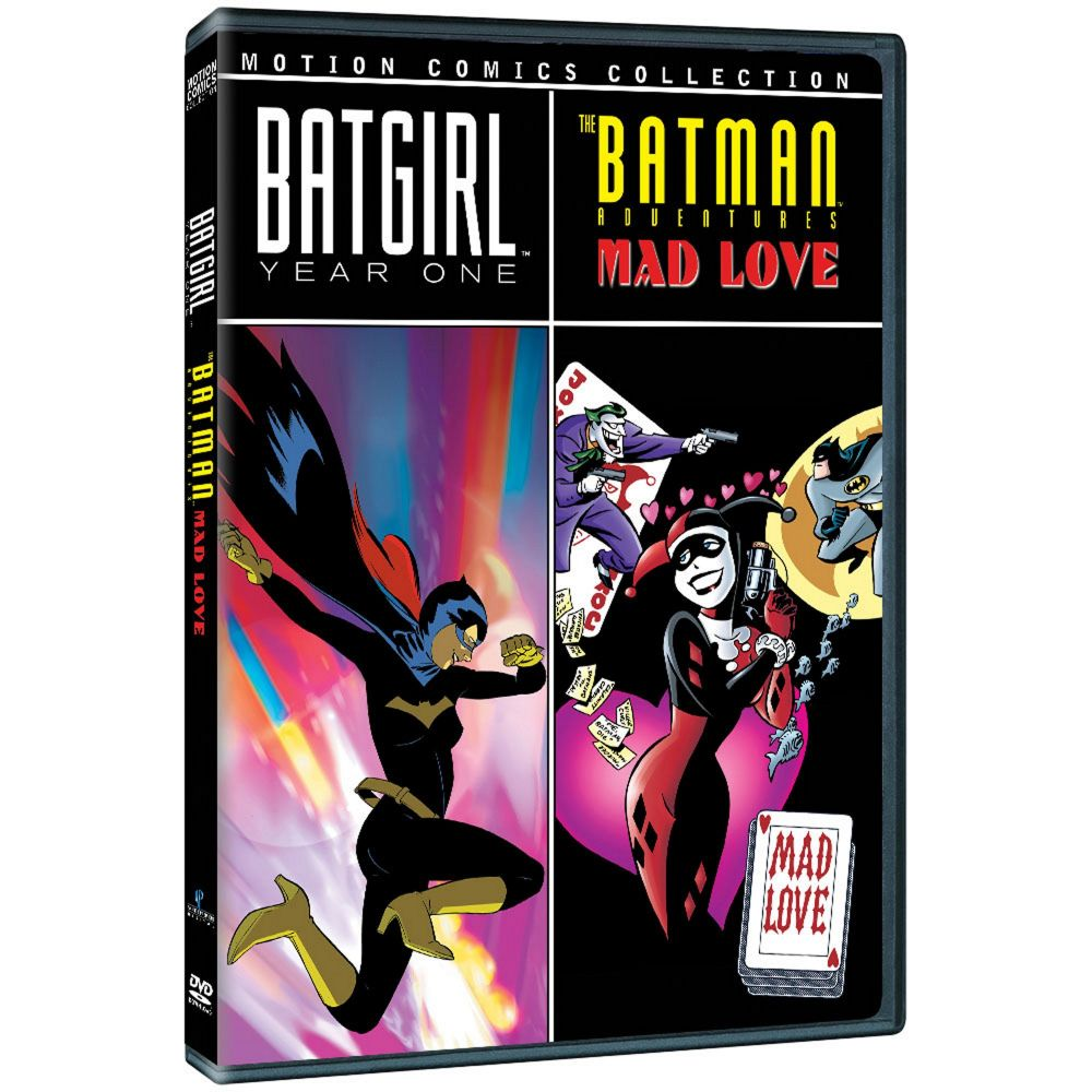 Batgirl: Year One/Batman Adventures: Mad Love Motion Comics (MOD)