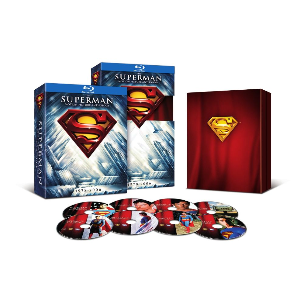 Superman: The Motion Picture Anthology 1978-2006 (BD)