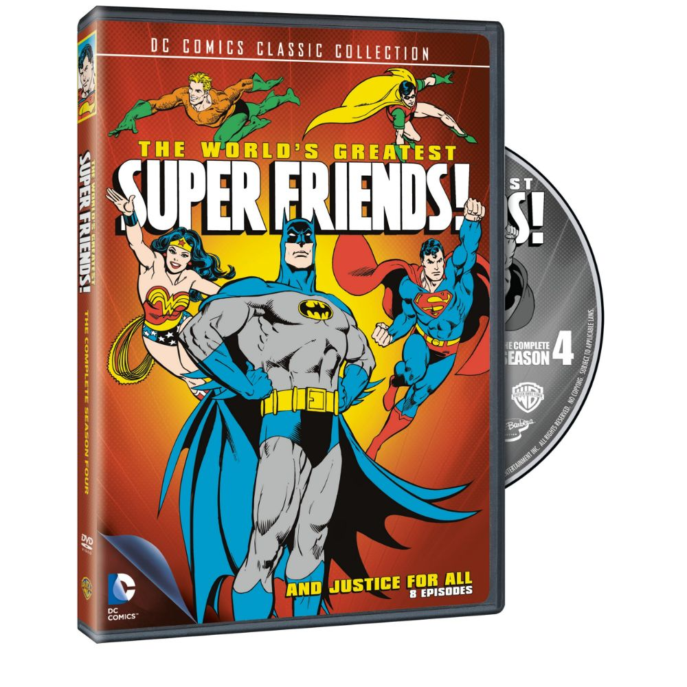The World's Greatest Super Friends: Season 4 (DVD)