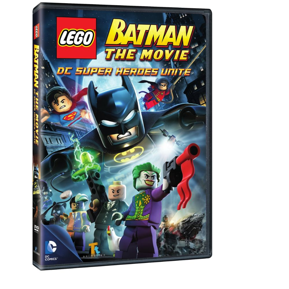 Lego Batman: The Movie - DC Super Heroes Unite (DVD)