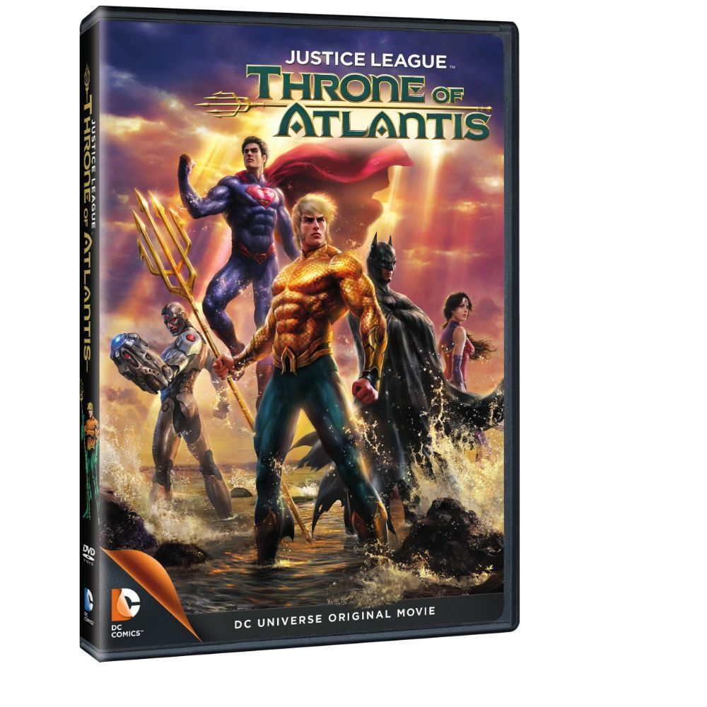 Justice League: Throne of Atlantis (DVD)
