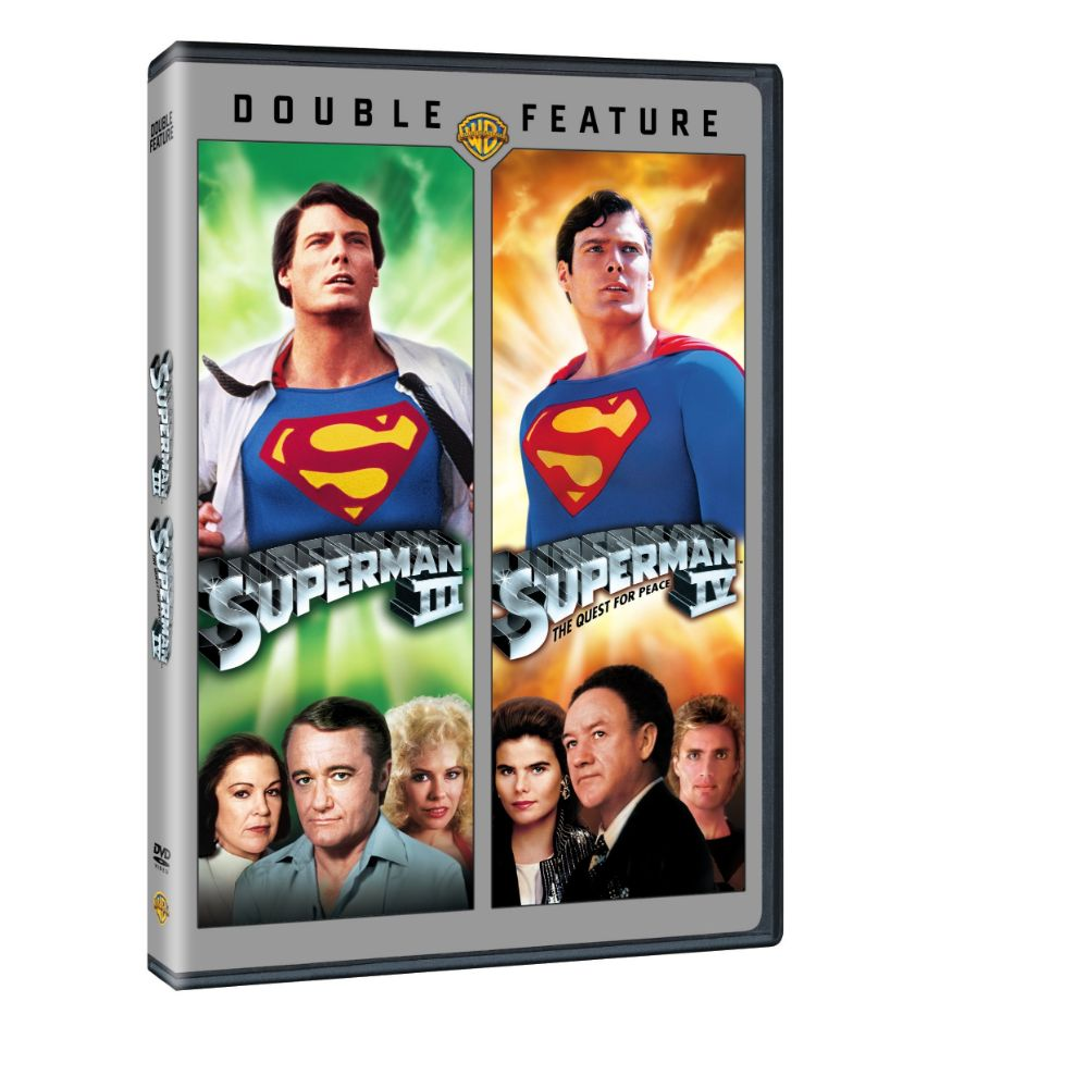 Superman III / Superman IV (Double Feature) (DVD)