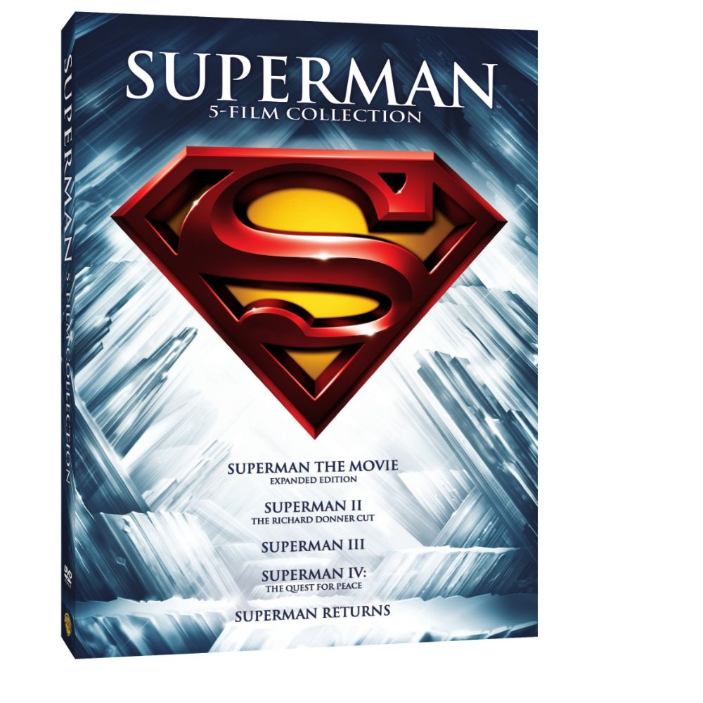 Superman 5 Film Collection (DVD)